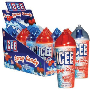ICEE Spray Candy W/Display 12 count