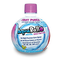 AquaBall Naturally Flavored Water, Fruit Punch, 12-Ounce (Pack of 12)