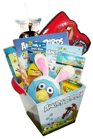 Angry Birds Easter Gift Basket (ages 4+)