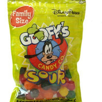 Disney World Parks Goofy Candy Co. Assorted Flavor Sour Balls Family Size 7 oz