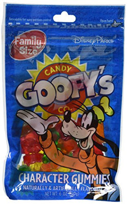 Disney Goofy's Candy Company Mickey Mouse Character Gummies 6oz Bag