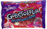 Gobstopper Red & White Heart Breakers Jawbreakers Change Colors & Flavors - 12 Oz Bag