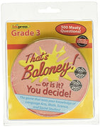 Edupress That's Baloney! Game, Grade 3 (EP63481)
