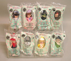 2007 McDONALDS HAPPY MEAL DOLLS COMPLETE SET Wizard of Oz