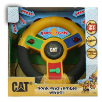 Small World Toy State CAT Honk & Rumble Wheel