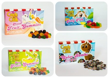 Candy Crush Candy Combo Case 3 - 3.5oz (4 Pack)