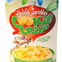 Holiday Sprinkles Cookie Crisp Cereal - One 11.25 Oz Box
