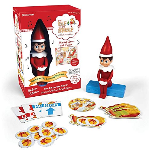 Deluxe The Elf on The Shelf Hide and Seek Game