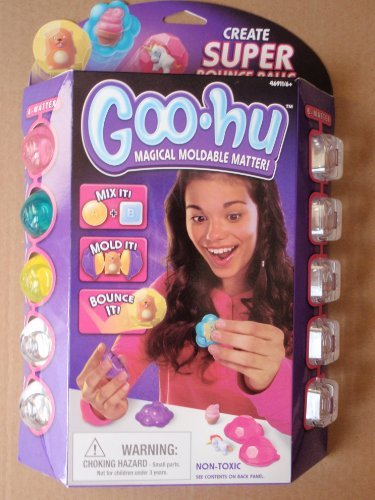 Goo Hu Magical Moldable Matter: Create Super Bounce Balls