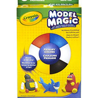 Crayola Model Magic .5 Ounces 6/Pkg-Primary