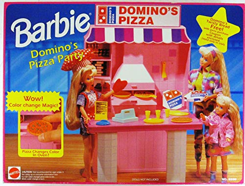 Barbie Domino's Pizza Party Playset (1993 Arcotoys, Mattel)