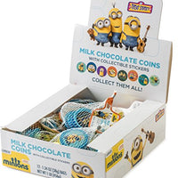 Despicable Me Minions Milk Candy Chocolate Coins