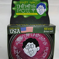 Reactive Razz With Magnet Magnetic Crazy Aaron'S Thinking Putty New Lg 4 Tin