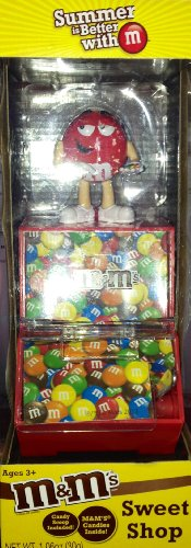 M&M Sweet Shop Candy Dispenser featuring Red