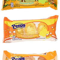 Peeps Fall Special Edition Dipped Chicks - Three Pack Set