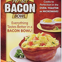 As Seen on TV Perfect Bacon Bowl 2 Pack Serving Bowls