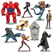 Disney Big Hero 6 Deluxe 9 Figure Play Set