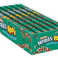 Nerds Rope, Christmas, 0.92 Oz., 24Count
