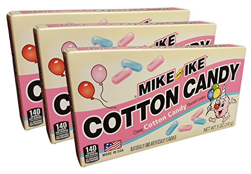 Mike and Ike Spring Chewy Cotton Candy Box 3 Pack 5 oz