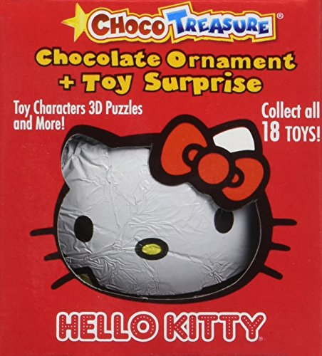 Hello Kitty Choco Treasure Ornament, Box 12 Count
