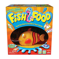 Goliath Games GOL70177 Fish Food Game (4 Player), Multicolor