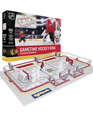 OYO NHL Chicago Blackhawks Full Rink Set, Small, Black