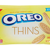 Oreo Thins Sandwich Cookies - Golden - 10.1 oz