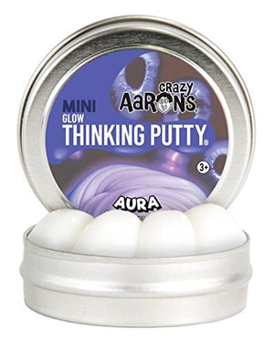 Crazy Aaron's, Putty Tin Aura Glow Dark 2 Inch