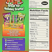 Warheads Holiday Sour Chewy Cubes