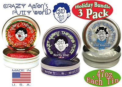 Crazy Aaron's Thinking Putty Mini Tins