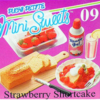 Re-Ment Strawberry Shortcake Dessert Collectible Set OOP Retired Mini Miniature Food Doll Dollhouse 2006 Toy