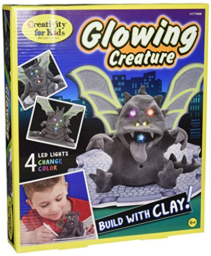 Creativity for Kids Glowing Creature Craft Kit