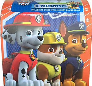 Paw Patrol Classroom Valentines 16 Cards With 48 Heart Shaped Seals