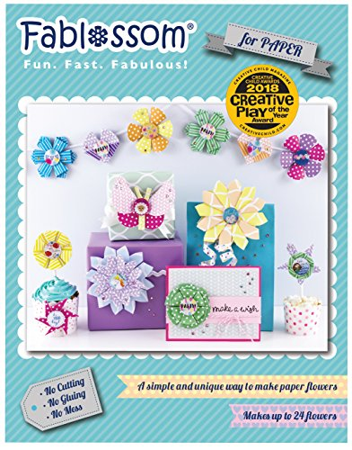 Fablossom Paper Starter Kit - DIY Craft - Paper Crafting Tool