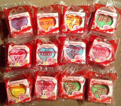 2015 Mcdonald's Happy Meal Toys Valentine Sweethearts Set
