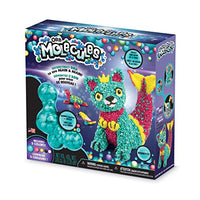 "The Orb Factory Orbmolecules Merkitty Never Dries Compound, Aqua/Pink/Yellow, 9.44"" x 3.44"" x 8.44""-Packaging May Vary"