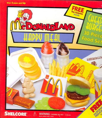 McDonaldland Cheese Burger Happy Meal