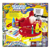 Crayola Marker Maker Wacky Tips