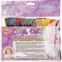 Janlynn Cool Cord Friendship Bracelet Pack, Makes 100 Bracelets