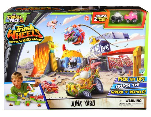 Trash Pack Wheels Junk Yard