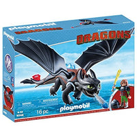 PLAYMOBIL How to Train Your Dragon Hiccup & Toothless