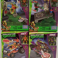 Bundle of 4-Teenage Mutant Ninja Turtles T-Sprints Gift Set
