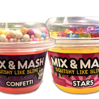 Compound Kings CK-110296 Mix n Mash Yogurt Cup Stars, Yellow