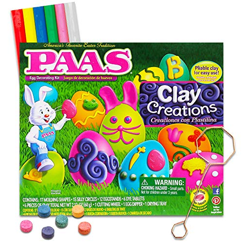 Paas Egg Decorating Kit Clay Creations Easter Fun For The KIds