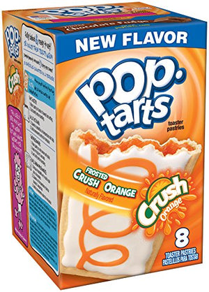 Pop-Tarts Kellogg's 8 Piece Snack, Orange Crush, 14.1 oz