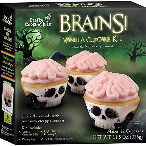 In the Mix Cupcake Kit, Brains, 11.5 Ounce