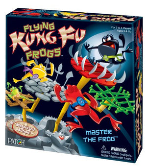 Patch Products Flying Kung Fu Frogs Flying Discs