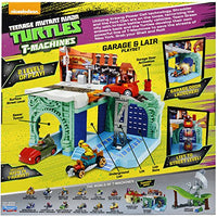 Teenage Mutant Ninja Turtles T-Machines Turtle's Garage and Lair Playset