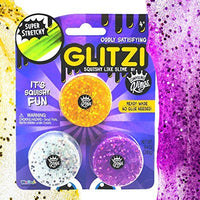 Compound Kings Trio Glitzi Glitter Squishy Like Slime Pack