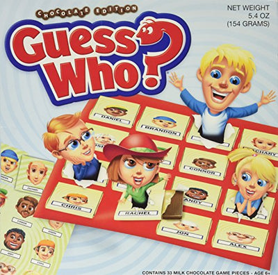 Hasbro Guess Who Chocolate Edition Board Game